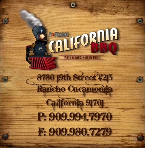 P Train's California Barbecue Contact Information